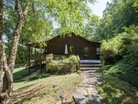 5 Acre Jim Barna Log Home In Mar : Marietta : Greenville County : South Carolina