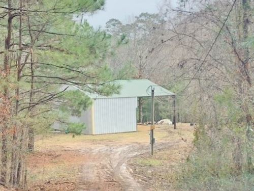 Camp & 15 Acres : Roxie : Franklin County : Mississippi