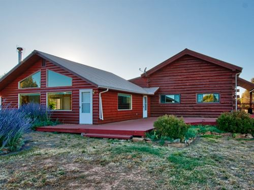 Log Home For Sale In Montrose : Montrose : Colorado