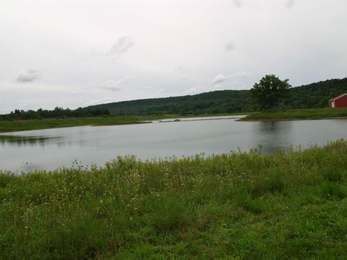 Private 30 Acre Lake 73 Acres Tioga : Waverly : Tioga County : New York