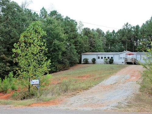 Land With Home for Sale in Pickens : Ball Ground : Pickens County : Georgia