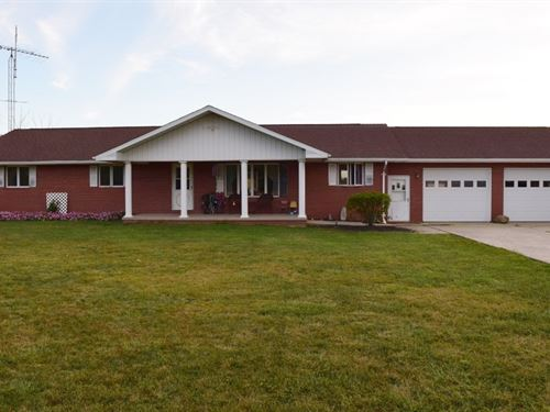 3 Bedroom, 2 Bath Country Living : Annapolis : Crawford County : Illinois