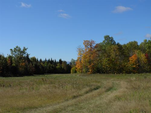 Farm Land in Mount Chase, Maine : Mount Chase : Penobscot County : Maine