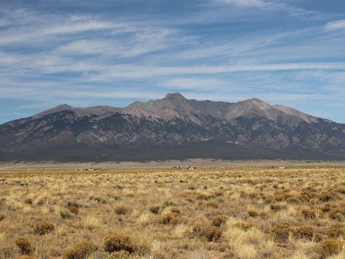 Breath Taking Mountain Views $79/Mo : Blanca : Costilla County : Colorado
