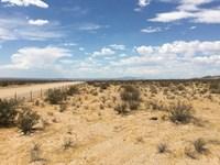 Beautiful Scenic Parcel, $229 P/Mo : Hinkley : San Bernardino County : California