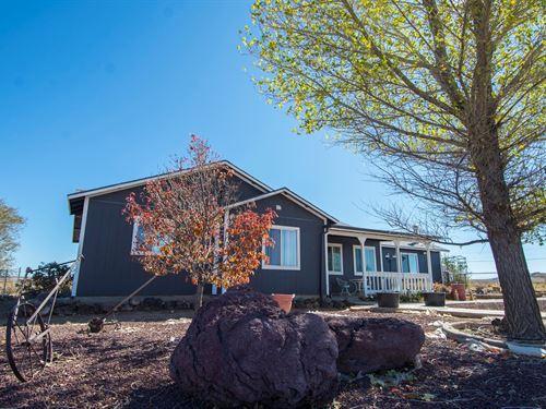 On-Grid Site Built Home Seligman : Seligman : Yavapai County : Arizona