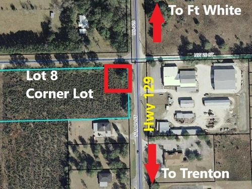 Commercial Land Gilchrist County : Bell : Gilchrist County : Florida