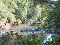 9,000 Feet Of Creek Frontage : Thomaston : Upson County : Georgia