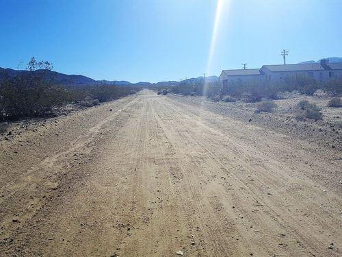 Nice,Buildable,Utilities, $175 P/Mo : Twentynine Palms : San Bernardino County : California