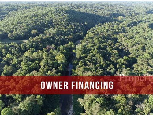 Owner Financed 46 Acres On River : Fordland : Webster County : Missouri