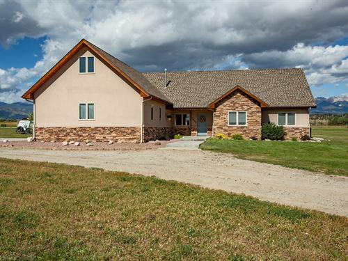 4196545, 4-Bedroom Home On 2 Irrig : Salida : Chaffee County : Colorado