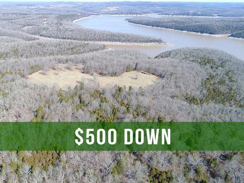 $500 Down On 8 Acres Near Lake : Cedarcreek : Taney County : Missouri