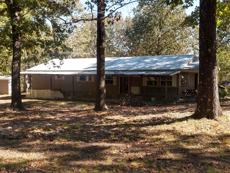 Country Homes in The Ozarks : Gainesville : Ozark County : Missouri