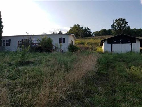 3 Br, 2 BA Mobile Home 6.32 Acres : Rogersville : Hawkins County : Tennessee