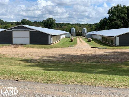 Chicken Farm Near Lake MS : Lake : Scott County : Mississippi