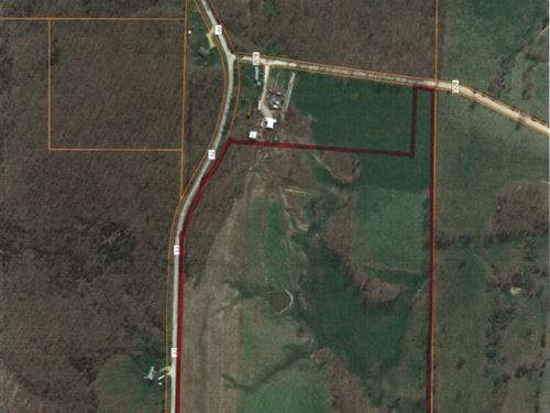 Fenced Land With Water : Mountain Grove : Wright County : Missouri