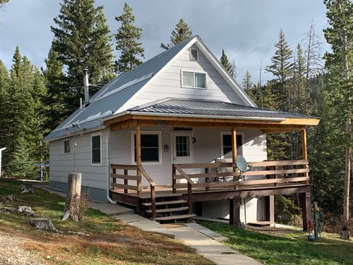 Little Belt Mountain Hideaway : White Sulphur Springs : Meagher County : Montana