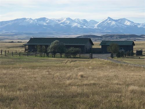 Crazy Antelope Ranch : Big Timber : Sweet Grass County : Montana