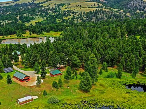Waterfront Hunting Property 2 Off : Helmville : Powell County : Montana