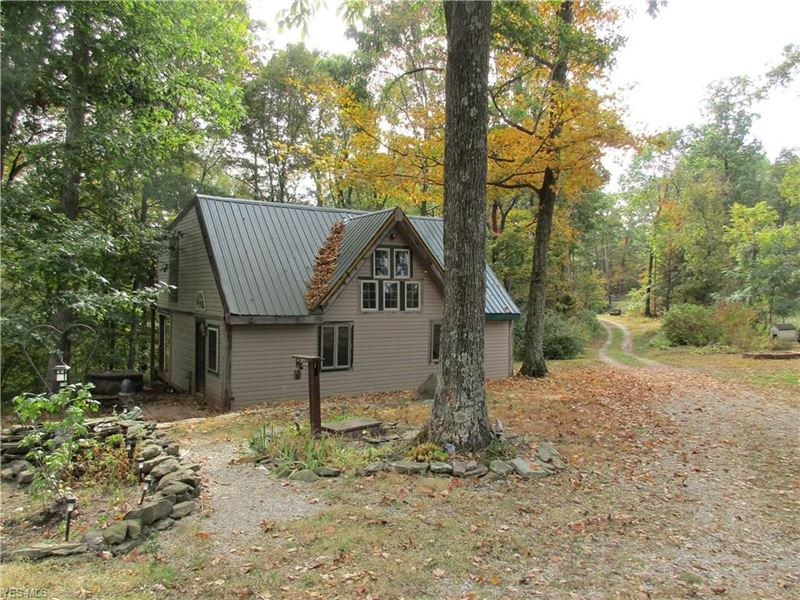 Nice Secluded Rustic Cabin Retreat : Ellenboro : Pleasants County : West Virginia