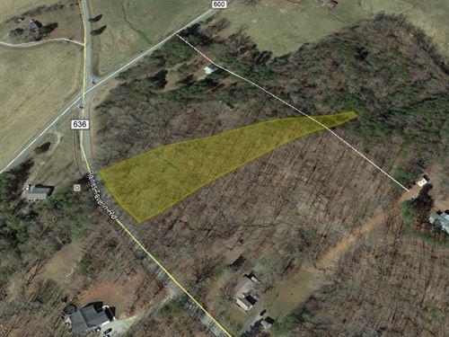 2 Acre Lot in Cumberland County, Va : Farmville : Cumberland County : Virginia