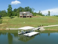 Custom Home on KY Lake and TN River : Sugar Tree : Decatur County : Tennessee
