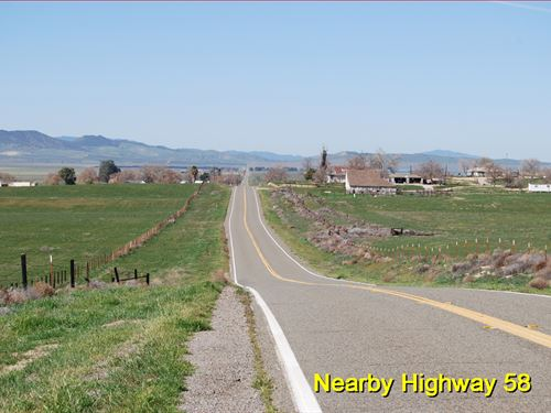 Ranch Lot, Power, Homes Nearby : Santa Margarita : San Luis Obispo County : California