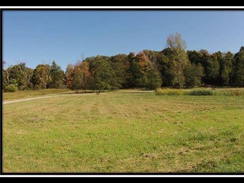 Beautiful Acreage W/Pond And Woods : Pleasantville : Fairfield County : Ohio