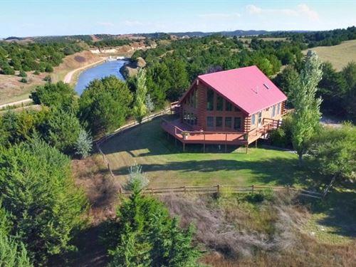 Ft, McPherson Log Home And Range : Maxwell : Lincoln County : Nebraska
