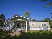 124.5 Acres With A Home In Marion : Columbia : Marion County : Mississippi