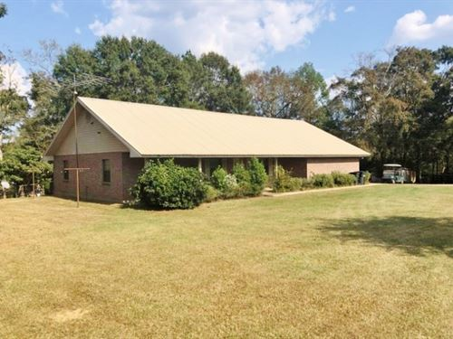 Home & Horse Farm, 30 Acres Lan : Tylertown : Walthall County : Mississippi