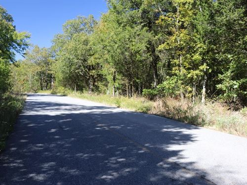 Paved Frontage Building Lot Ozarks : Mountain View : Stone County : Arkansas