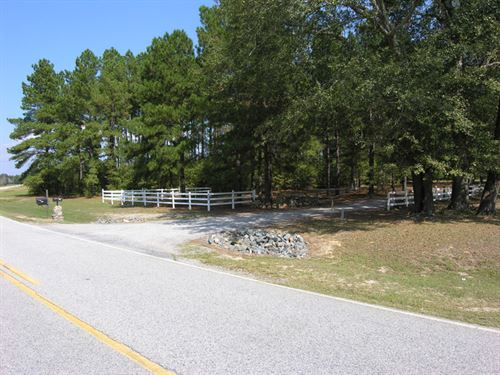 130 Acres With Home And Rv Spaces : Waynesboro : Burke County : Georgia