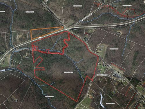 Chinquapin Road Mountain Tract : Travelers Rest : Greenville County : South Carolina