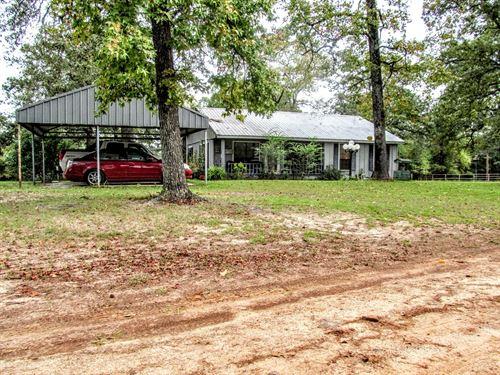 Country Home 4 Acres, Winnsboro : Winnsboro : Wood County : Texas