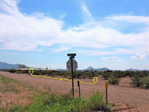 Adjacent Lots, Utilities, $100/Mo : Douglas : Cochise County : Arizona