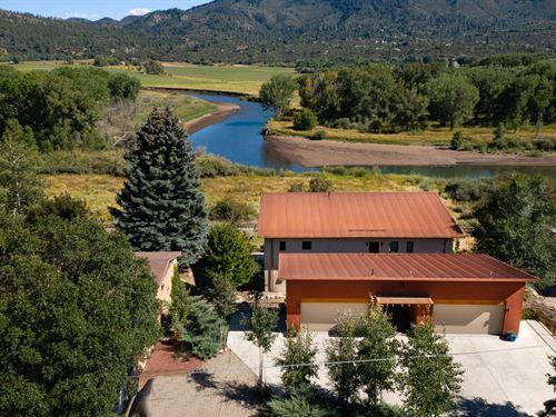 Second Home On River With Cash Flow : Durango : La Plata County : Colorado