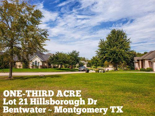 .35 Acres in Montgomery County : Montgomery : Texas