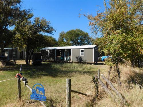 Cabin Lake Brownwood Texas View : May : Brown County : Texas