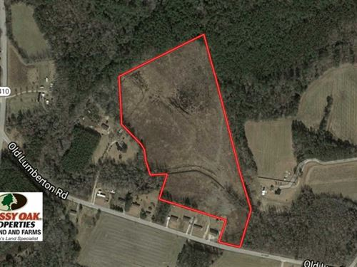 Under Contract, 25.9 Acres of Re : Whiteville : Columbus County : North Carolina