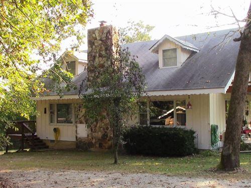 Chalet Style Home Ozark County 44.9 : Gainesville : Ozark County : Missouri