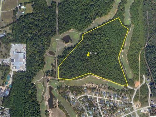 40 Developable Acres Center Diboll : Diboll : Angelina County : Texas