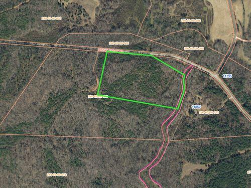Rabon Creek Frontage : Waterloo : Laurens County : South Carolina