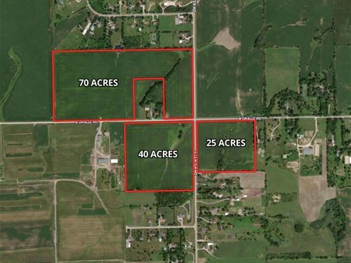 135 Ac Green Garden Twp : Frankfort : Will County : Illinois