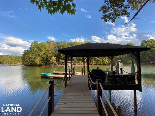 2.27 Acre Waterfront Lot With Dock : Denver : Lincoln County : North Carolina