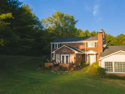 Home For Sale On Golf Course : Laurel Fork : Carroll County : Virginia