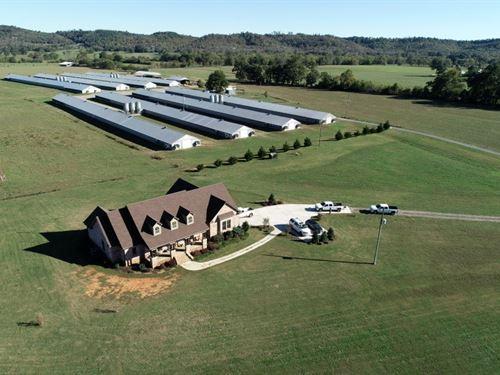 Sale Pending Backstrom Poultry Farm : Guntersville : Blount County : Alabama