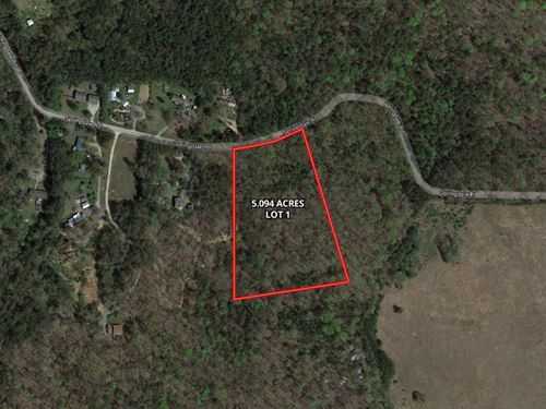 5.09 Acres Ready for a Dream Home : Rockmart : Polk County : Georgia