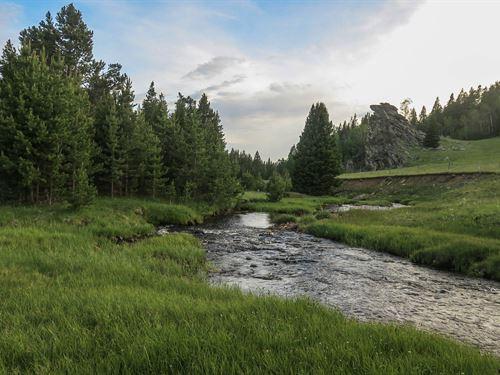 Hazelton Cirque Ranch : Hazelton : Johnson County : Wyoming