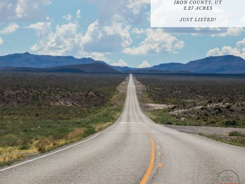 2.27 Acres In Iron County, Utah : Modena : Iron County : Utah